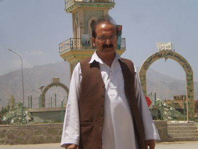 Noor M. Ghafury aus Afghanistan