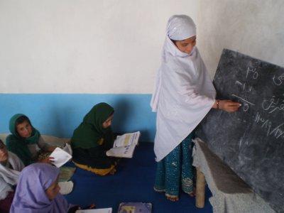 Afghanische Schulkinder